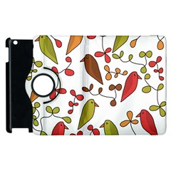 Birds and flowers 3 Apple iPad 3/4 Flip 360 Case
