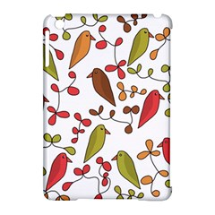 Birds and flowers 3 Apple iPad Mini Hardshell Case (Compatible with Smart Cover)