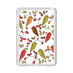 Birds and flowers 3 iPad Mini 2 Enamel Coated Cases