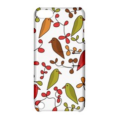 Birds and flowers 3 Apple iPod Touch 5 Hardshell Case with Stand
