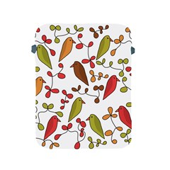 Birds and flowers 3 Apple iPad 2/3/4 Protective Soft Cases