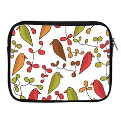 Birds and flowers 3 Apple iPad 2/3/4 Zipper Cases
