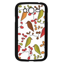 Birds and flowers 3 Samsung Galaxy Grand DUOS I9082 Case (Black)
