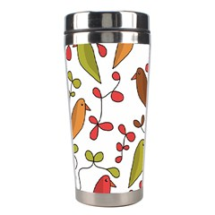 Birds and flowers 3 Stainless Steel Travel Tumblers