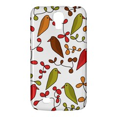 Birds and flowers 3 Samsung Galaxy Mega 6.3  I9200 Hardshell Case