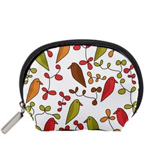 Birds and flowers 3 Accessory Pouches (Small)