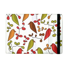 Birds and flowers 3 iPad Mini 2 Flip Cases