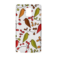 Birds and flowers 3 Samsung Galaxy Note 4 Hardshell Case