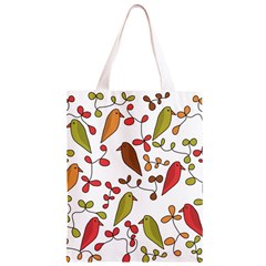 Birds and flowers 3 Classic Light Tote Bag