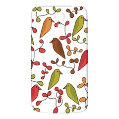 Birds and flowers 3 Samsung Galaxy Mega I9200 Hardshell Back Case