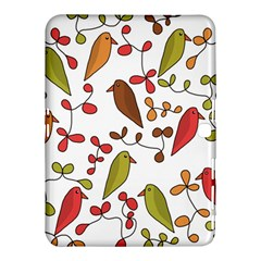 Birds and flowers 3 Samsung Galaxy Tab 4 (10.1 ) Hardshell Case