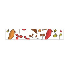 Birds and flowers 3 Flano Scarf (Mini)