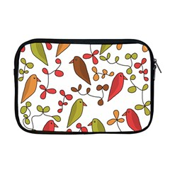 Birds and flowers 3 Apple MacBook Pro 17  Zipper Case
