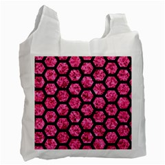 HXG2 BK-PK MARBLE (R) Recycle Bag (One Side)