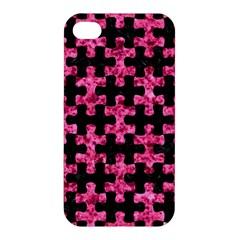 PUZ1 BK-PK MARBLE Apple iPhone 4/4S Hardshell Case