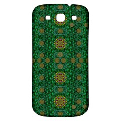 Magic Peacock Night Samsung Galaxy S3 S III Classic Hardshell Back Case