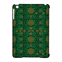 Magic Peacock Night Apple Ipad Mini Hardshell Case (compatible With Smart Cover)