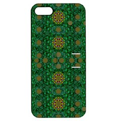 Magic Peacock Night Apple iPhone 5 Hardshell Case with Stand