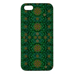 Magic Peacock Night iPhone 5S/ SE Premium Hardshell Case