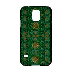 Magic Peacock Night Samsung Galaxy S5 Hardshell Case