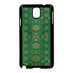 Magic Peacock Night Samsung Galaxy Note 3 Neo Hardshell Case (black)