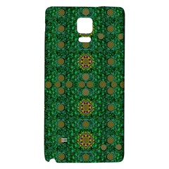 Magic Peacock Night Galaxy Note 4 Back Case