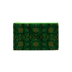 Magic Peacock Night Cosmetic Bag (XS)