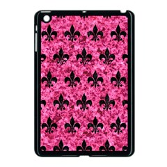 RYL1 BK-PK MARBLE Apple iPad Mini Case (Black)