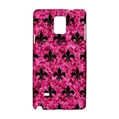 Royal1 Black Marble & Pink Marble Samsung Galaxy Note 4 Hardshell Case