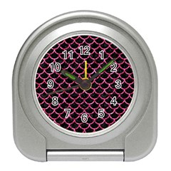 SCA1 BK-PK MARBLE Travel Alarm Clocks