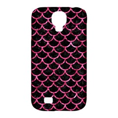 SCA1 BK-PK MARBLE Samsung Galaxy S4 Classic Hardshell Case (PC+Silicone)