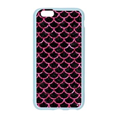 SCA1 BK-PK MARBLE Apple Seamless iPhone 6/6S Case (Color)