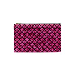 SCA1 BK-PK MARBLE (R) Cosmetic Bag (Small)