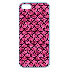 SCA1 BK-PK MARBLE (R) Apple Seamless iPhone 5 Case (Color)
