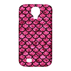 SCA1 BK-PK MARBLE (R) Samsung Galaxy S4 Classic Hardshell Case (PC+Silicone)