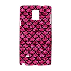 SCA1 BK-PK MARBLE (R) Samsung Galaxy Note 4 Hardshell Case