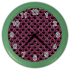 SCA2 BK-PK MARBLE Color Wall Clocks
