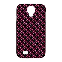 SCA2 BK-PK MARBLE Samsung Galaxy S4 Classic Hardshell Case (PC+Silicone)