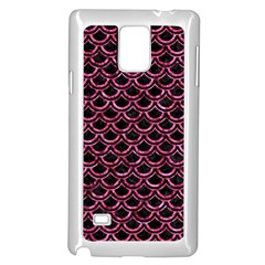 SCA2 BK-PK MARBLE Samsung Galaxy Note 4 Case (White)