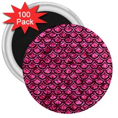 SCA2 BK-PK MARBLE (R) 3  Magnets (100 pack)