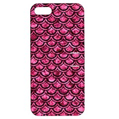 SCA2 BK-PK MARBLE (R) Apple iPhone 5 Hardshell Case with Stand