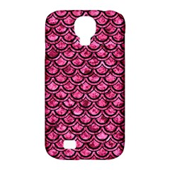 SCA2 BK-PK MARBLE (R) Samsung Galaxy S4 Classic Hardshell Case (PC+Silicone)