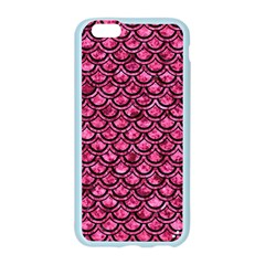 SCA2 BK-PK MARBLE (R) Apple Seamless iPhone 6/6S Case (Color)