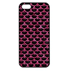 SCA3 BK-PK MARBLE Apple iPhone 5 Seamless Case (Black)
