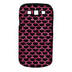SCA3 BK-PK MARBLE Samsung Galaxy S III Classic Hardshell Case (PC+Silicone)