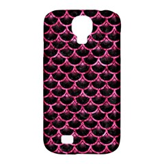 SCA3 BK-PK MARBLE Samsung Galaxy S4 Classic Hardshell Case (PC+Silicone)