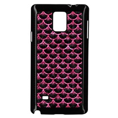 SCA3 BK-PK MARBLE Samsung Galaxy Note 4 Case (Black)