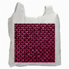 SCA3 BK-PK MARBLE (R) Recycle Bag (Two Side)
