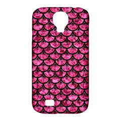 SCA3 BK-PK MARBLE (R) Samsung Galaxy S4 Classic Hardshell Case (PC+Silicone)