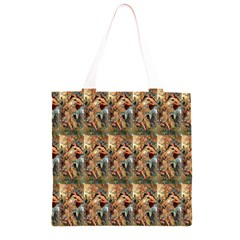 Autumn By Alfons Mucha 1896 Grocery Light Tote Bag